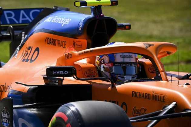 10) Lando Norris (McLaren), 1min26s778
