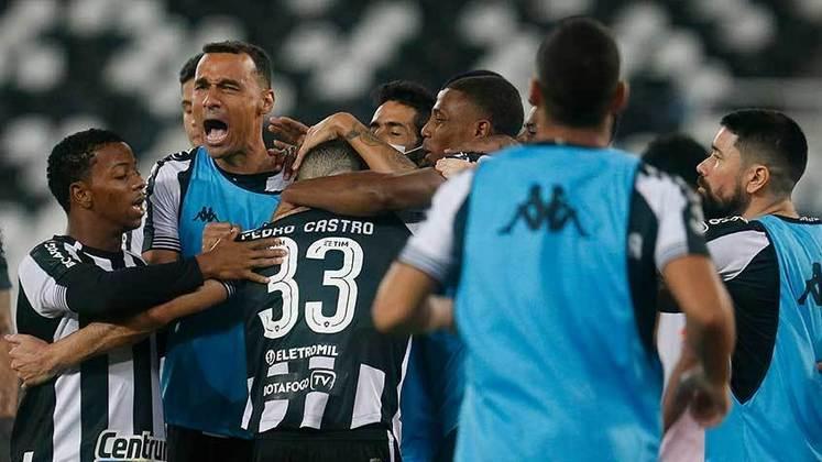 10º lugar - Botafogo: R$ 74 milhões de receitas com direitos de TV