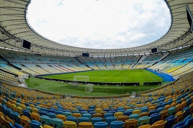 10 - Maracanã - Flamengo/Fluminense (Brasil)