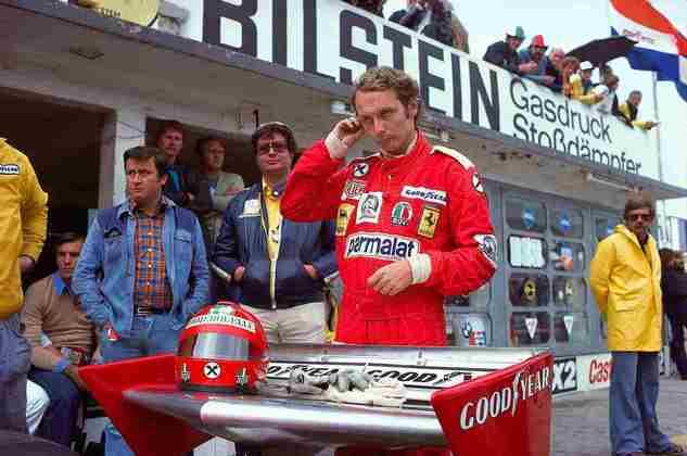 10º - O austríaco Niki Lauda, com 25 vitórias