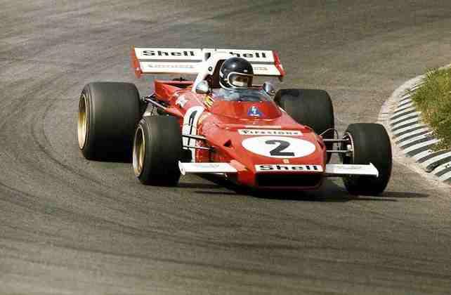 10 - O belga Jack Ickx, vice-campeão de 1970, também tem 6 vitórias na Ferrari
