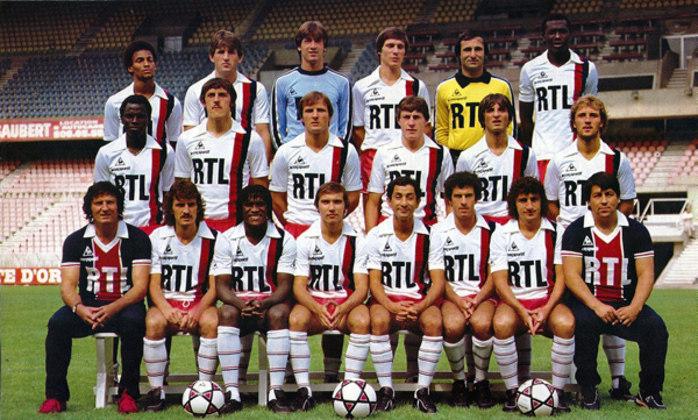 10º - PSG-FRA (1982-1983)