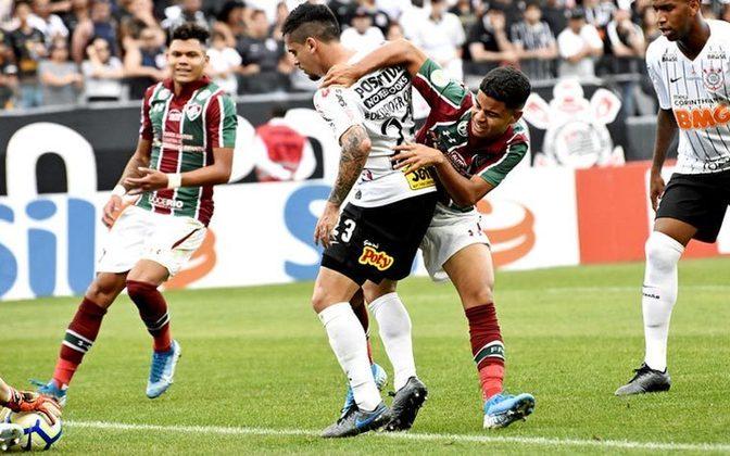 10ª rodada - Fluminense x Corinthians - 13/09 - 16h - Maracanã