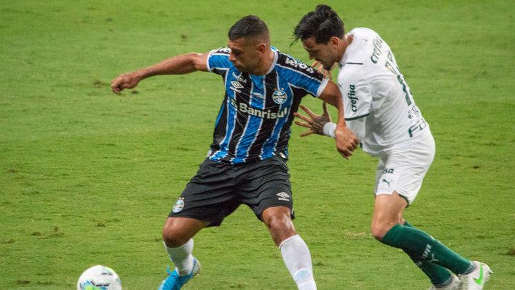 10ª rodada – Palmeiras x Grêmio – 7/07 – 19h (de Brasília) – Allianz Parque