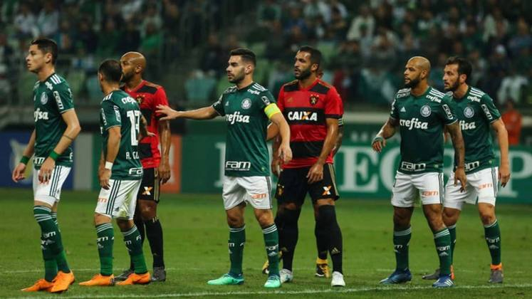 10ª rodada - Palmeiras x Sport - Segundo a tabela detalhada da CBF, o Verdão também vai receber o Sport no Allianz Parque com transmissão da TNT.