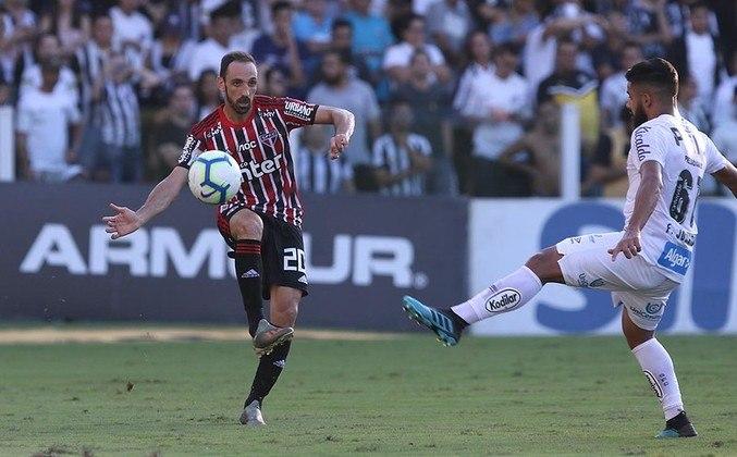 10ª rodada - Santos x São Paulo - No dia 12 de setembro, domingo, o São Paulo visita a Vila Belmiro às 16h. No Brasileirão de 2019, o Tricolor venceu em casa (3 a 2) e empatou fora (1 a 1). No Paulistão deste ano, venceu no Morumbi (2 a 1).