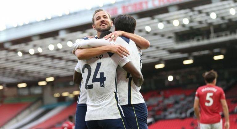 10º - Tottenham - Valor do elenco segundo o Transfermarkt: 705 milhões de euros (aproximadamente R$ 4,31 bilhões)