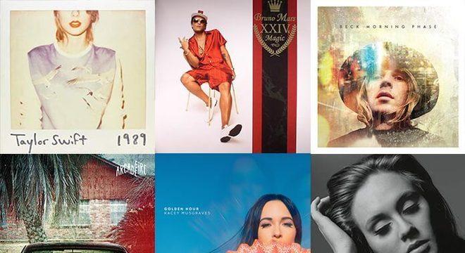 10 Vencedores de Álbum do Ano do Grammy