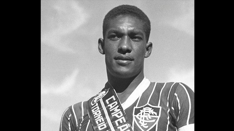 10 - Waldo (1954 - 1961) - 402 jogos com a camisa do Fluminense.