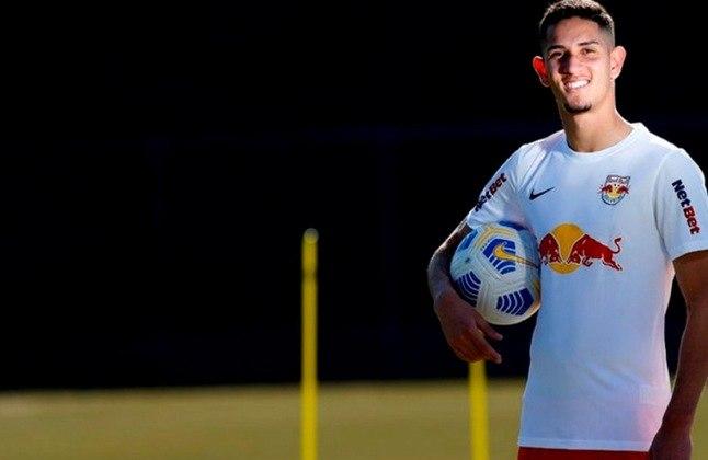 11º - Bruno Praxedes – 19 anos – meio-campista – Red Bull Bragantino / valor de mercado: 5 milhões de euros