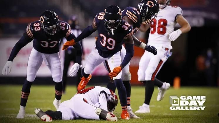 11° Chicago Bears: Tem sido o time da virada em 2020. A defesa segue jogando em alto nível, e Nick Foles tem lapsos de brilhantismo no ataque.