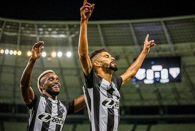 11º colocado – Ceará (15 pontos) – 11 jogos / 1.4% de chances de título; 23.6% para vaga na Libertadores (G6); 8% de chance de rebaixamento.