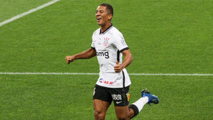 11º colocado – Corinthians (25 pontos) – 0.056% de chance de título; 4.7% para vaga na Libertadores (G6); 19% de chances de rebaixamento.