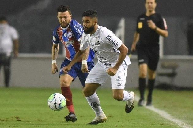 11º colocado – Santos (46 pontos/33 jogos): 0.0% de chances de ser campeão; 20.9% de chances de Libertadores (G6); 0% de chances de rebaixamento.