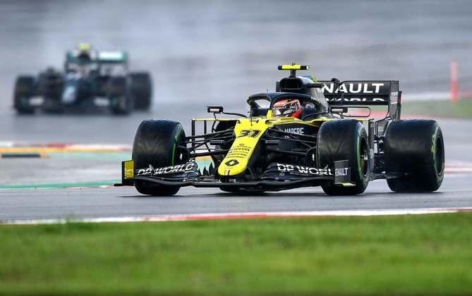 11 - Esteban Ocon (Renault) - 4.57 - Novamente bastante modesto.