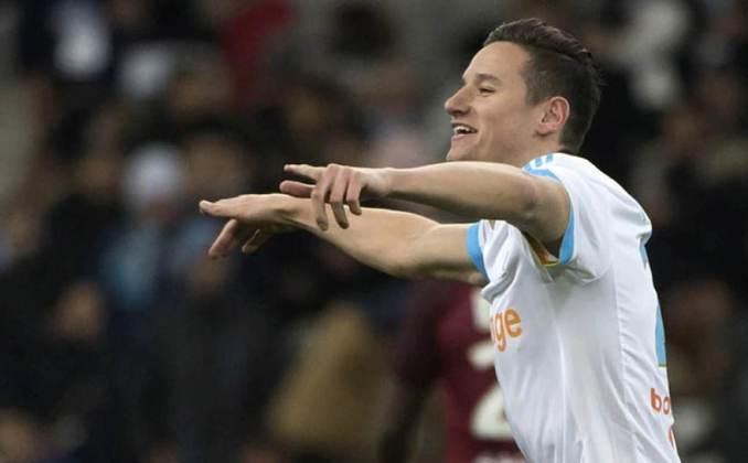 11º – Florian Thauvin - O ponta de 27 anos, do Marselha, também é avaliado em 32 milhões de euros (R$ 211 milhões).