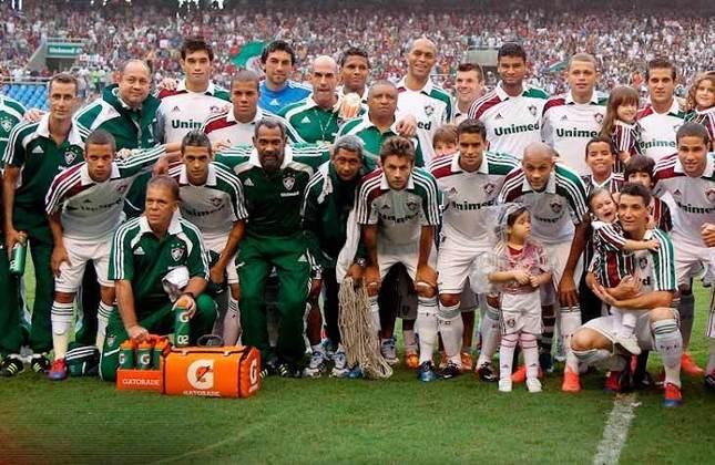 11° - Fluminense (2,95 milhões de torcedores) - Três títulos: Um Campeonato Brasileiro (2012), um estadual (2012) e uma Primeira Liga (2016).
