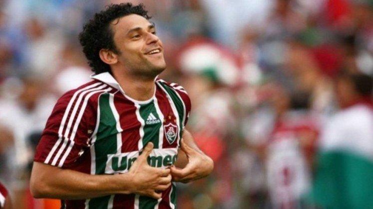 11º - Fred - 36 anos - brasileiro - 386 gols em 732 jogos - clube atual: Fluminense