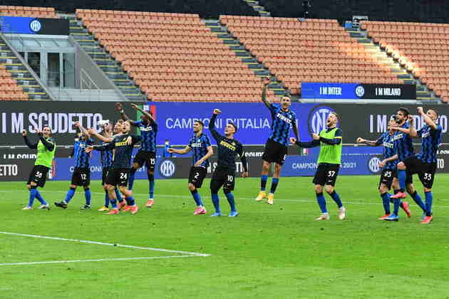 11º - Inter de Milão - Valor do elenco segundo o Transfermarkt: 658,8 milhões de euros (aproximadamente R$ 4,03 bilhões)