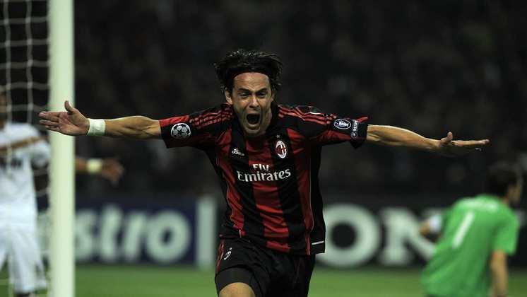 11º - Inzaghi - 46 gols em 81 jogos