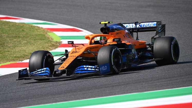 11) Lando Norris (McLaren), 1min16s640