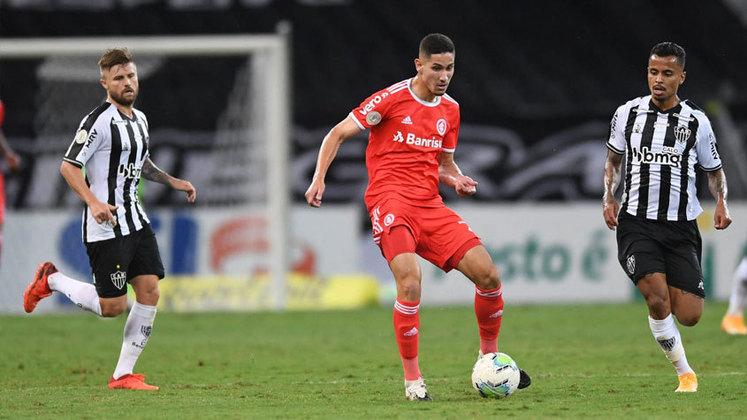 11º lugar: Bruno Praxedes - Internacional - 19 anos - Meia - Avaliado em: 5 milhões de euros (aproximadamente R$ 32,40 milhões)