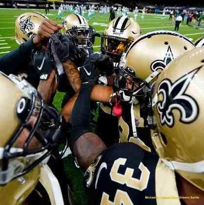 11 - New Orleans Saints: O retorno de Michael Thomas deve adicionar uma dimensão ainda mais letal ao ataque de New Orleans.