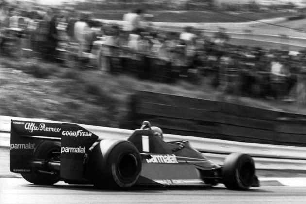 11 - Niki Lauda, 24 poles, a última delas com o Brabham BT46 no GP da África do Sul de 1974