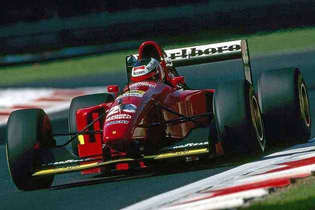 11 - O austríaco Gerhard Berger venceu 5 vezes pela Ferrari
