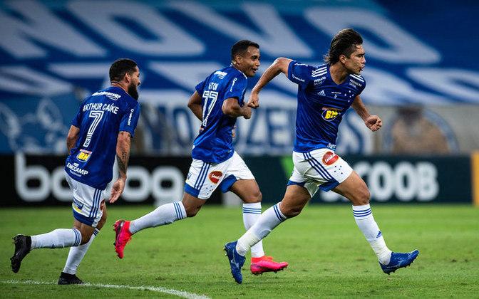 11 – O Cruzeiro, que disputa a Série B neste ano, aparece com um número maior: 3.653.405 seguidores (participação de 2,1%).