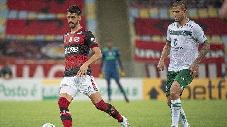 11ª rodada) Flamengo 2x1 Goiás, no Maracanã, em 13 de outubro de 2020