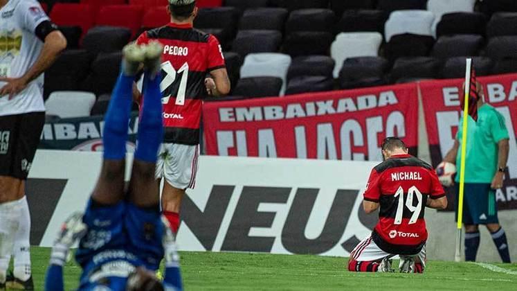 11ª rodada - Flamengo 2x1 Volta Redonda (Maracanã - 24/04/2021) - Gols do Flamengo: Michael e Vitinho