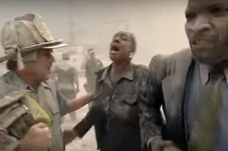 Repórter filmou drama dos sobreviventes