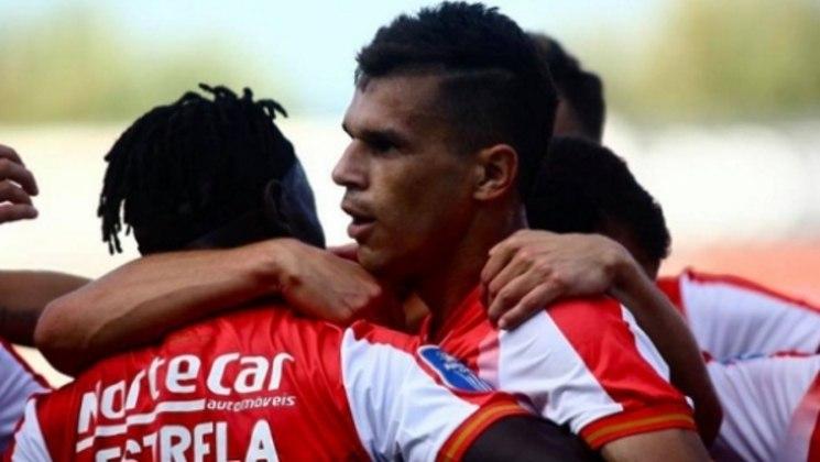 11º - Welinton Júnior - Aves - Portugal - 10 gols - 7 gols no Campeonato Português, 2 gols na Taça de Portugal e 1 gol na Taça da Liga