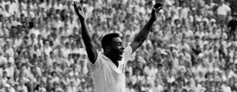 11/03/1961 - Flamengo 1 x 7 Santos - Gols do Santos: Pelé (3), Pepe (2), Coutinho e Dorval