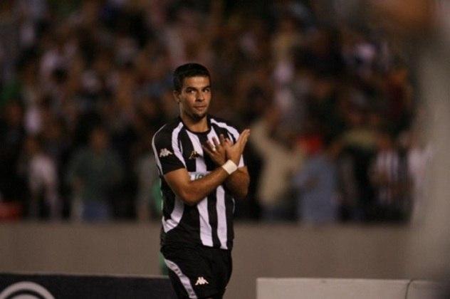 11/03/2007 - Botafogo 7 x 0 Friburguense - Gols do Botafogo: Túlio (2), André Lima (foto) (2), Zé Roberto (2) e Lúcio Flavio