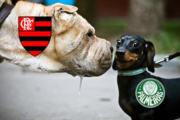 11/04/2021 - Flamengo 2 x 2 Palmeiras (6-5 nos pênaltis) -Supercopa do Brasil