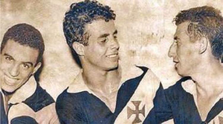 12º - Almir Pernambuquinho - 25 gols - Um dos grandes craques do futebol brasileiro nas décadas de 50 e 60, chamado de Pelé Branco, Almir atuou no Vasco entre 1957 e 1960, após ser revelado pelo Sport.