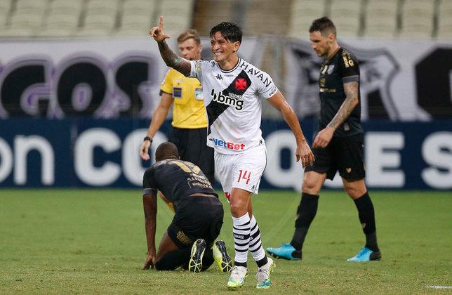 12º - Ceará 0x3 Vasco - Campeonato Brasileiro 2020.