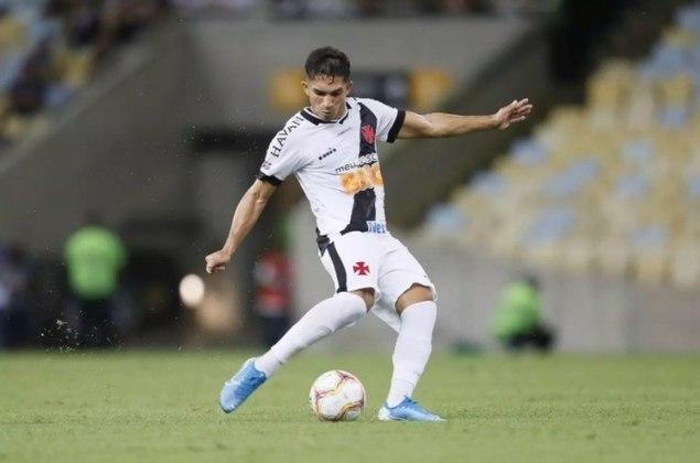 12º - Ceará 0x3 Vasco - Campeonato Brasileiro 2020. Andrey deu um passe, na medida, e o argentino só teve o trabalho de marcar e sair para comemorar.