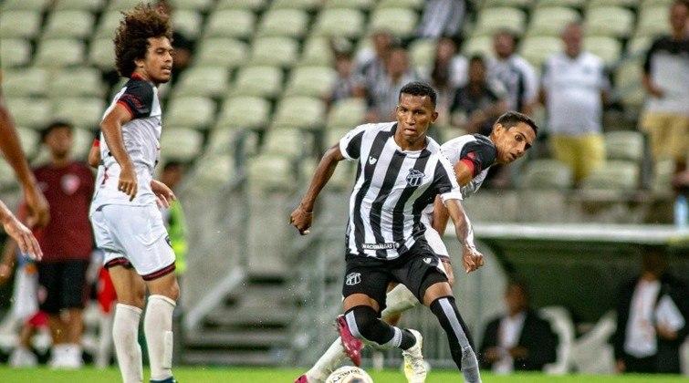 12º colocado – Ceará (45 pontos/34 jogos): 0.0% de chances de ser campeão; 4.8% de chances de Libertadores (G6); 0% de chances de rebaixamento.