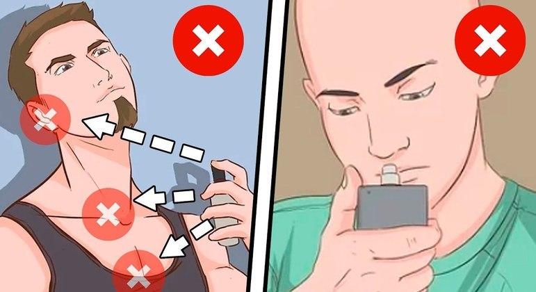 12 erros com perfume masculino que você deve evitar