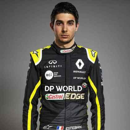 12º - Esteban Ocon (Renault) - 40 pontos - Melhor resultado: 5º no GP da Bélgica