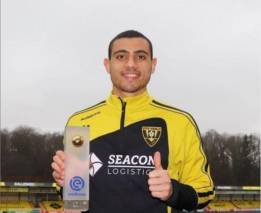 12º: Giorgos Giakoumakis (VVV-Venlo) - 24 gols / 34 pontos