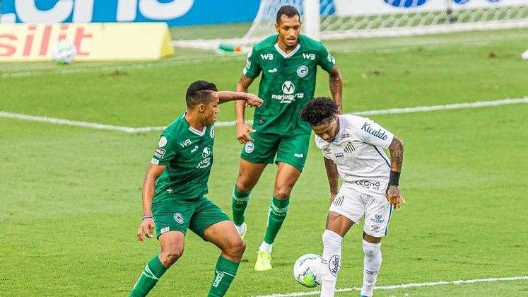 12º - Goiás - 25 pontos em 18 jogos. Sete vitórias, quatro empates e sete derrotas. Dezoito gols marcados e vinte e quatro sofridos. 46.30% de aproveitamento.