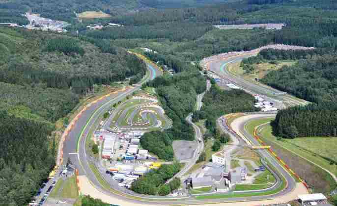 12 - GP da Bélgica - Spa-Francorchamps - 29 de agosto.