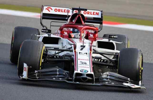 12º - Kimi Räikkönen (Alfa Romeo) - 2.24 - O recorde de corridas é única coisa positiva aqui. Quase fez Russell capota