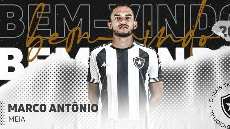 12º - Marco Antônio (Meia) - 11 jogos