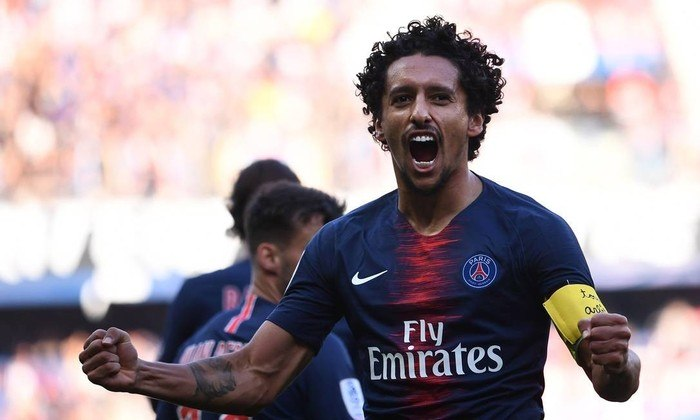 12 - Marquinhos (Zagueiro/volante do Paris Saint-Germain) - 52 milhões de euros.