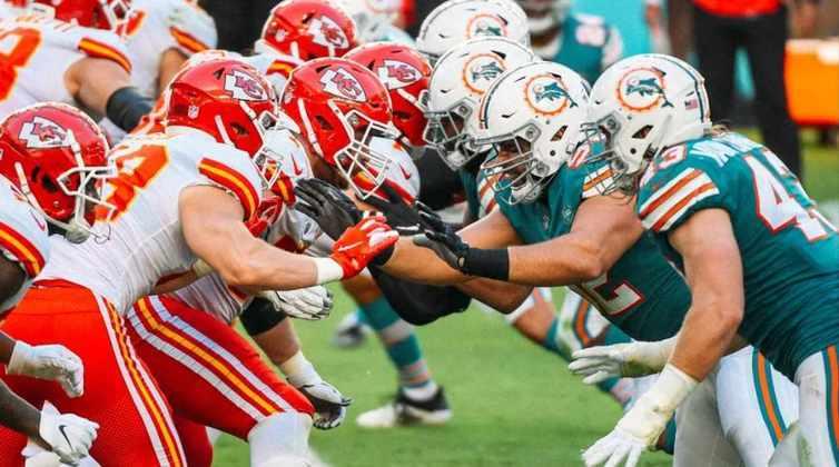 12º Miami Dolphins (9-4): O ataque demorou a acordar na semana 14. A defesa fez tudo certo para que os Dolphins tivessem uma chance de derrotar os Chiefs.